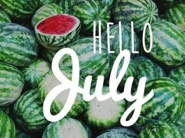 六月再见,七月你好的正能量唯美说说短句,适合做个性签名