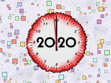 走过2019,跨越2020年零点发朋友圈的说说