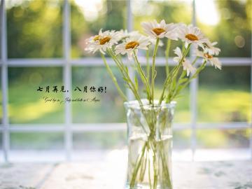 七月底月末最后一天唯美说说 做一个温暖的人,浅浅笑,轻轻爱