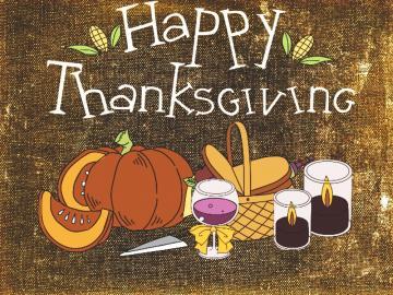 感恩节感谢一切的祝福说说 祝你感恩节快乐