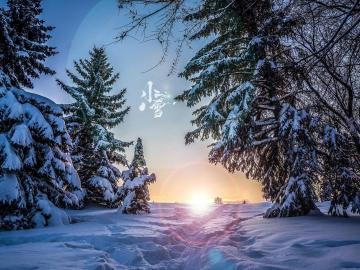 今日是小雪的祝福说说