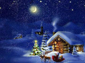 将思念融进祝福的圣诞节问候语