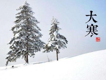 大寒之日,新年伊始之际,祝你大寒快乐