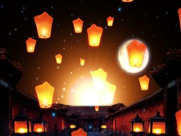 关于中元节的古诗名句