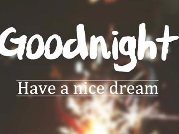 晚安,月亮上的人