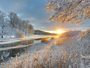 适合冬天发朋友圈的唯美文案 霜雪落满头 也算共白首