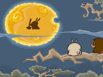 中秋节一个人赏月的朋友圈心情说说
