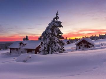 下雪天发朋友圈配一句话的雪景说说
