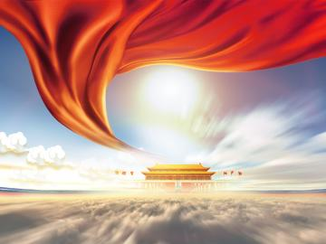 迎接国庆,祝福祖国的句子:月是华夏明,家居祖国亲