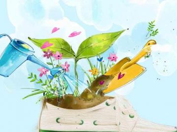 """3月12日植树节,让""""好运""""如青滕缠树伴着你的祝福语"""