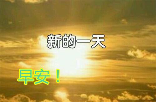 2019早上好阳光问候语励志说说配图,句句说到你内心深处