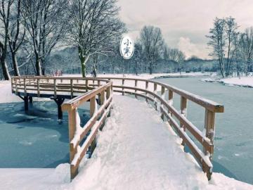 唯美冻人的小寒时节诗词