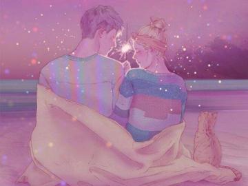 关于爱情的唯美句子 遇见对的人牵手走一生