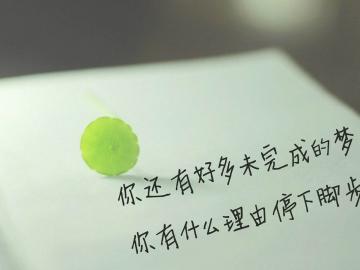 关于努力的唯美句子 要想不被抛弃,必须自己争