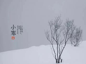 小寒時節唯美問候語句 小寒來臨花落紅,一場白雪傲東風