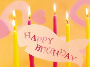 祝朋友生日快乐的说说 愿你生活幸福,笑语轻扬