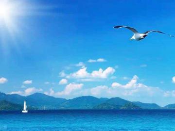 海边旅游的说说 想和你一起看海