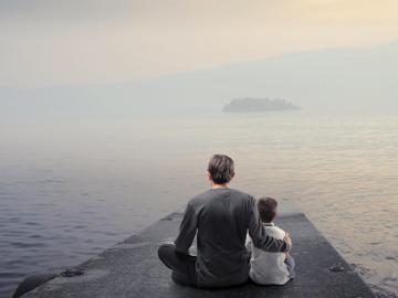 父亲节文案 | 时光时光慢些吧,不要再父亲变老啦