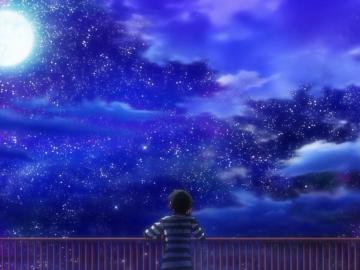 晚安,仰望星星的人