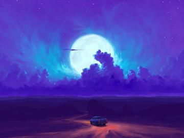 关于月亮的温柔浪漫神仙句子