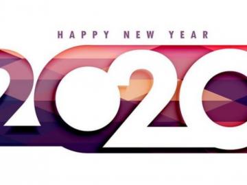 2020年新的一年,新的开始的简短的祝福