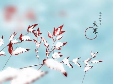 二十四节气之大寒暖心祝福说说 祝你冬日艳阳暖心间,大寒快乐