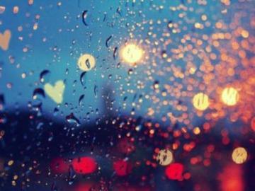 下雨听音乐的心情短语