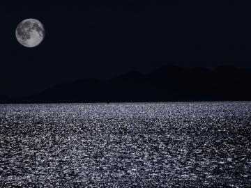 个性月亮头像:生活点滴温柔可爱 都值得前进