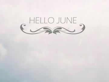 告别五月,迎接六月的阳光积极的励志句子