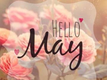 四月尾声,五月伊始的心情说说