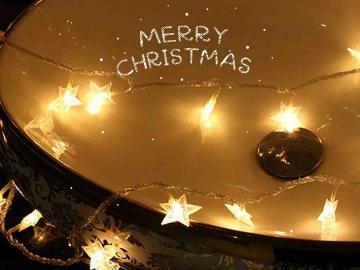 圣誕節走心文案   節日很短,甜蜜很長