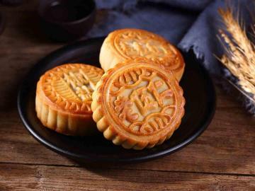 中秋佳节吃到月饼的心情说说