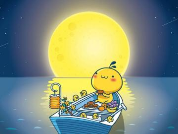 中秋节描写圆月的古诗词