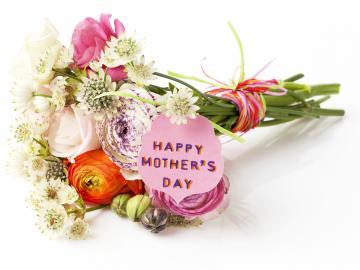 最贴心的母亲节祝福语 天上日月最大,天下母亲最大