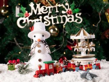 圣诞节到了,愿你快乐愿你幸福的祝福说说