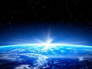 绿色地球日保护环境的宣传标语  既要金山银山更要碧水蓝天