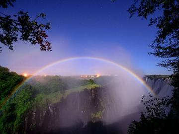 描写唯美彩虹的古诗词句