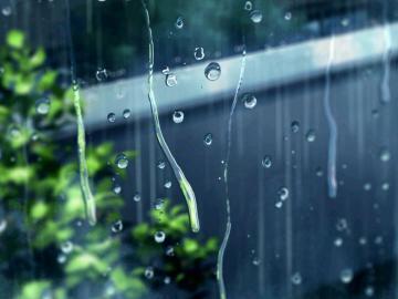 下雨天的心情说说  你的眼睛下雨了,淋湿我所有的骄傲