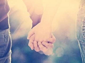 情侣之间最幸福的句子 我这一生就是为了遇见你
