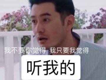 《中餐厅第三季》霸道总裁黄晓明语录集合 明言明语表情包