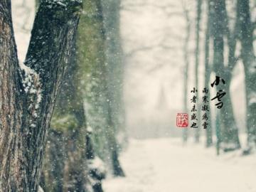 2019年二十四节气之小雪温馨养生祝福语