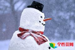 微信朋友圈下雪说说大全 朋友圈关于下雪了的说说大全