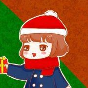 2018最新微信圣诞情侣卡通头像一男一女 戴小红帽的卡通情侣头像